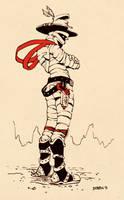 Cowboy Mummy by dkirbyj