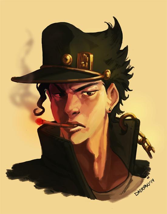 Jotaro Quick Paint by dkirbyj