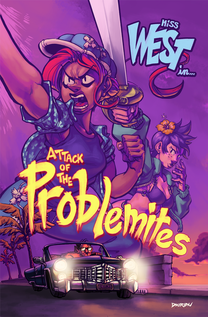 Attack of the Problemites by dkirbyj