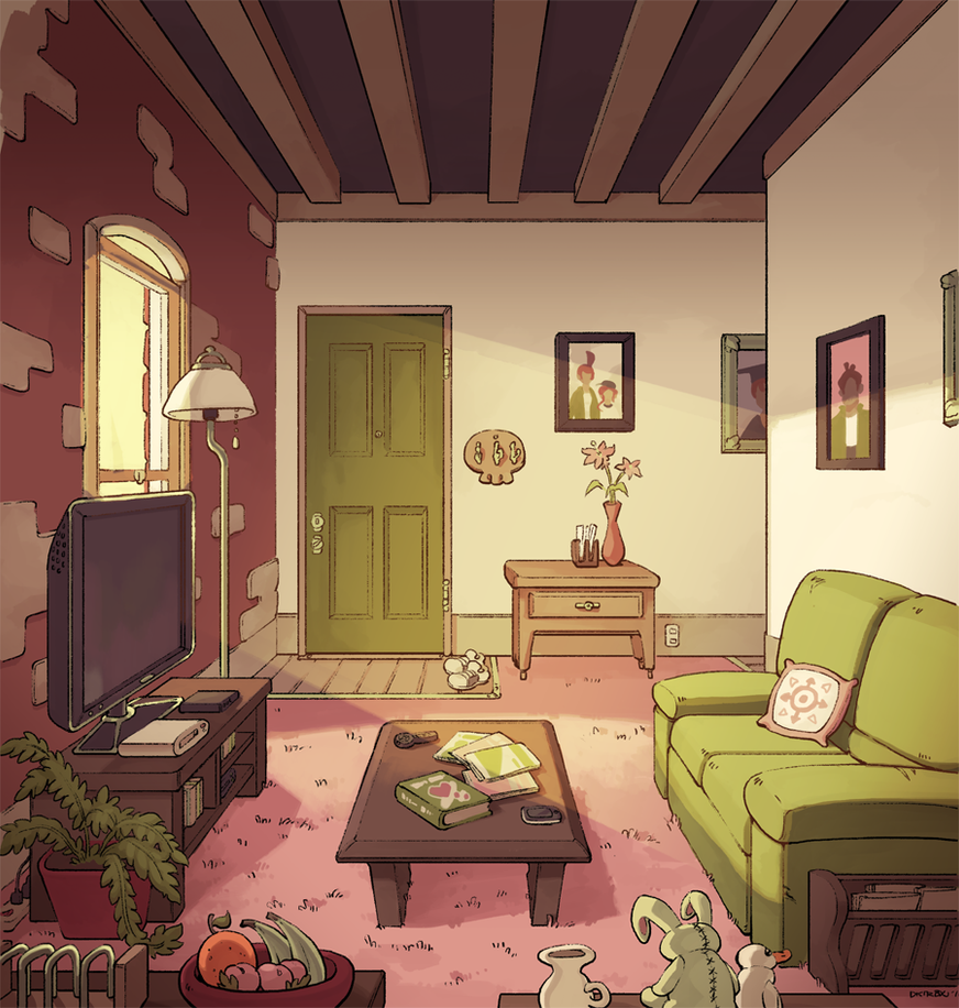 Miss West Living Room Normal By Dkirbyj On DeviantArt