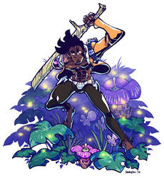 Wooded Swordsman by dkirbyj