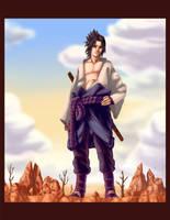 Ch. 306 Sasuke - Colored by dkirbyj