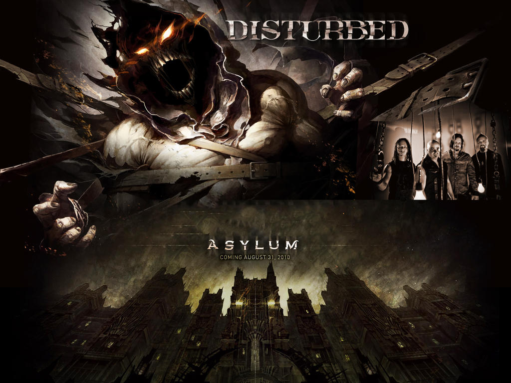 Asylum - Disturbed by DarknessBliss on DeviantArt