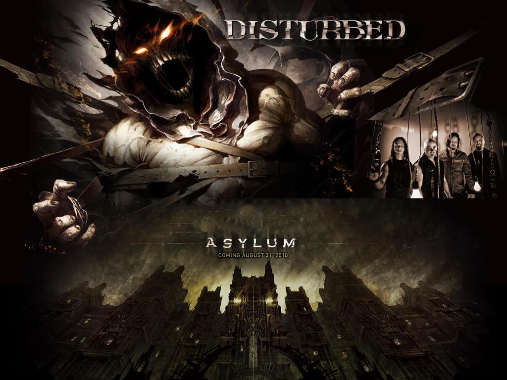 Asylum - Disturbed by DarknessBliss on DeviantArt