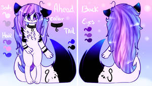 Reference - OC Mascot - Anasflow Maggy by Anasflow