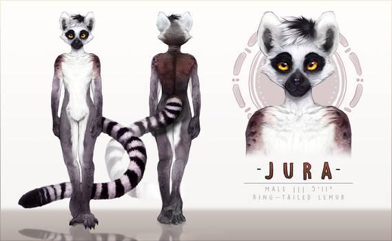 [C] HQ Ref Sheet and Character Design (Jura Lemur)