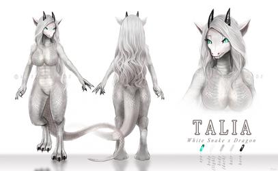 [C] HQ Ref Sheet and Character Design (Talia)