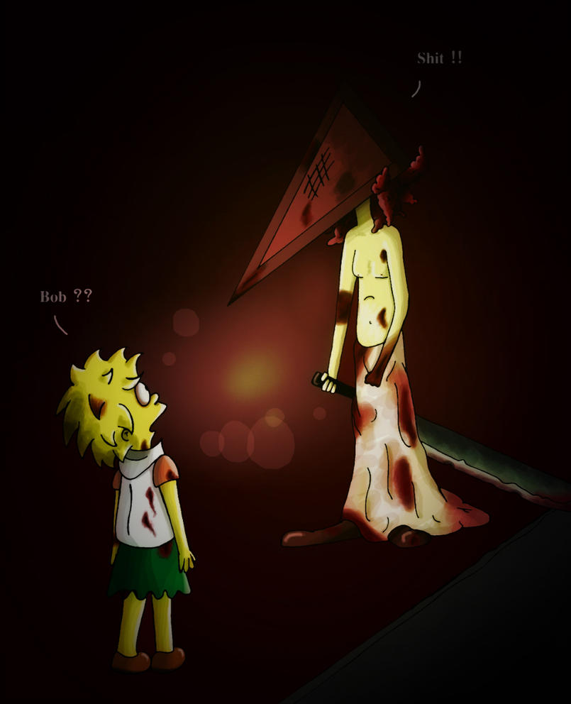 Silent Hill ... Pyramid Head - Bob ... by April-Springs
