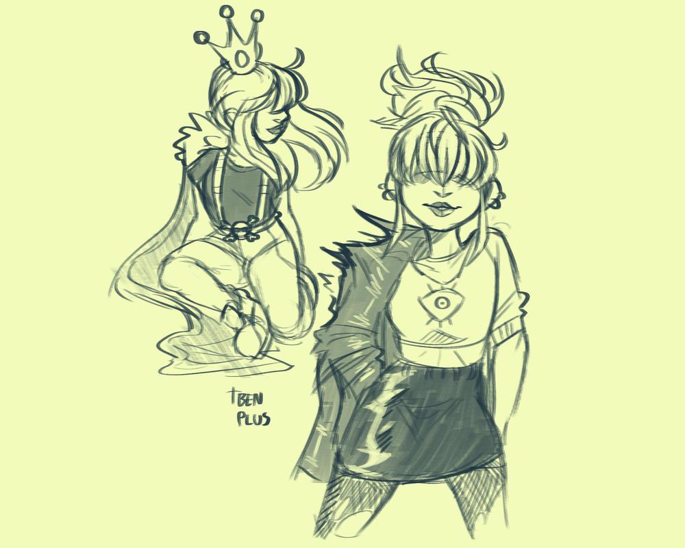 Jade Sketches by BenPlus