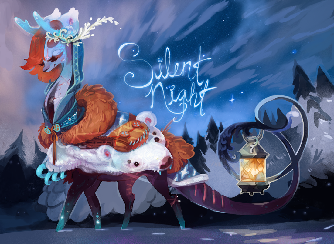 [LD] ADVENT-Day 23 - Silent Night by Sapphu-Adopts