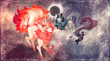 Sun and Moon | Stardusters | Closed by Sapphu-Adopts