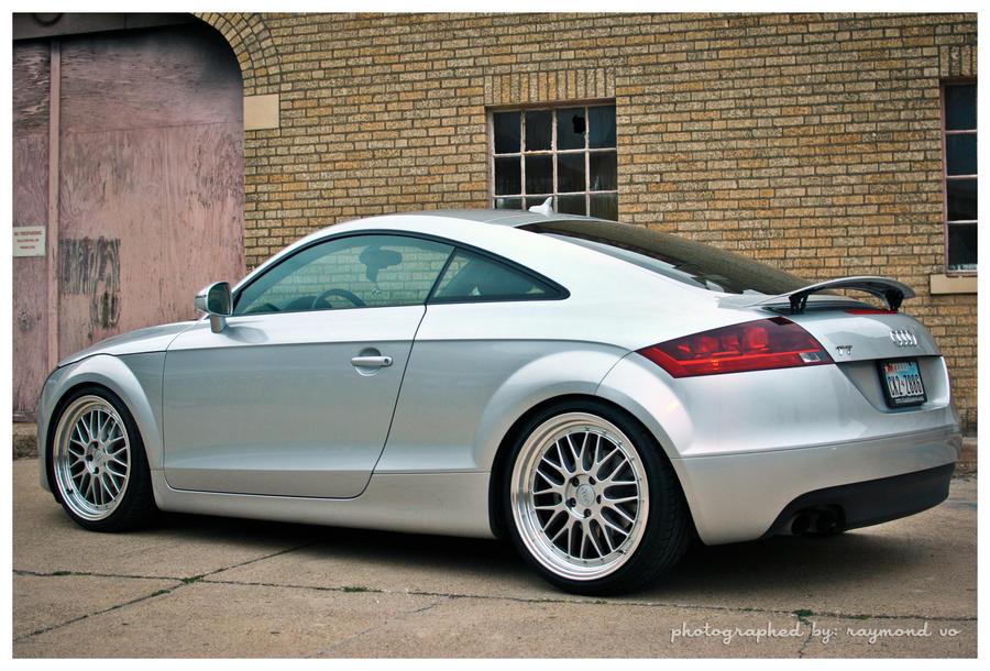 Audi Tt Mk2 8j By Theanimestore On Deviantart