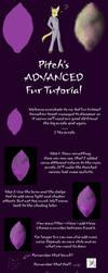 Pitch's advanced fur tutorial by PitchblackDragon