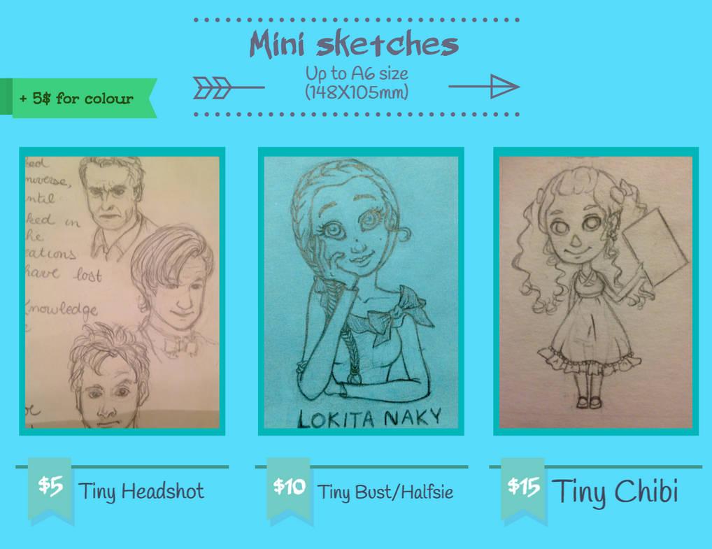 Sketches Block 2 by Lokita-Naky