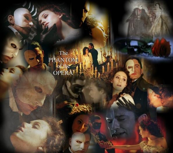 The Phantom of the Opera by pencilsharpeneress