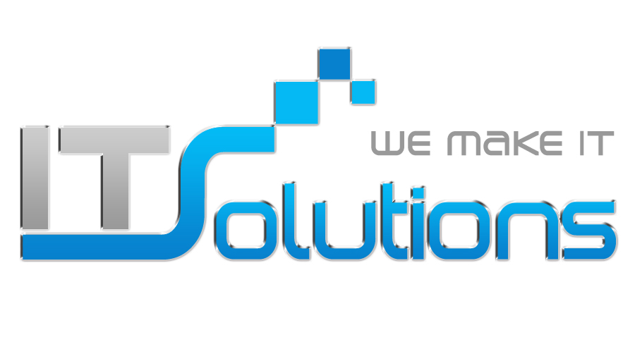 IT Solutions logo by eganet