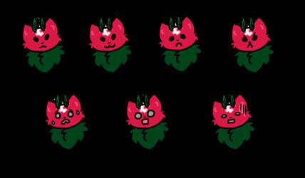 [Mothcats] Bramble's Expression Sheet