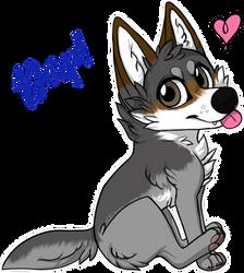 I Love My Derp Wolf