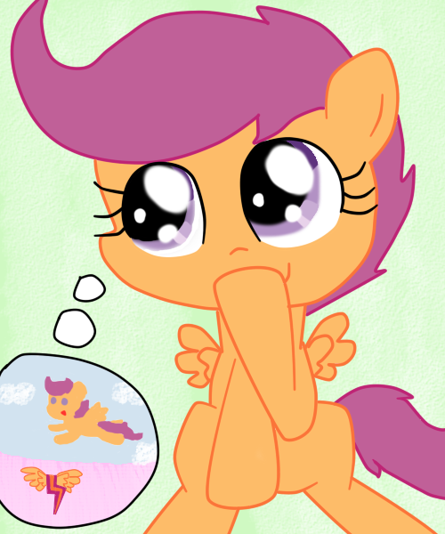 Scootaloo's Imagination by Scootie-246