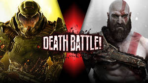 Doom Slayer VS Kratos