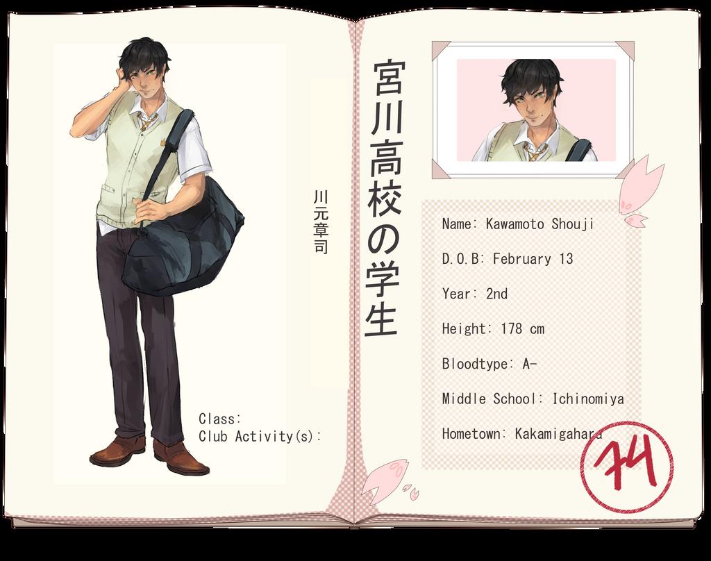 MH: Kawamoto Shouji by MlKO