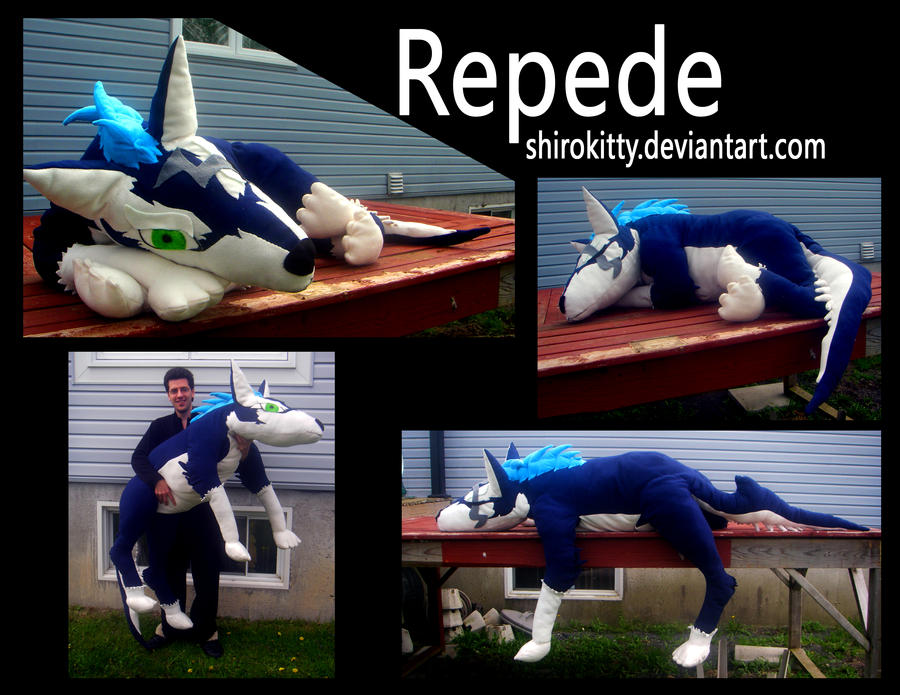 giant repede plush by Shirokitty