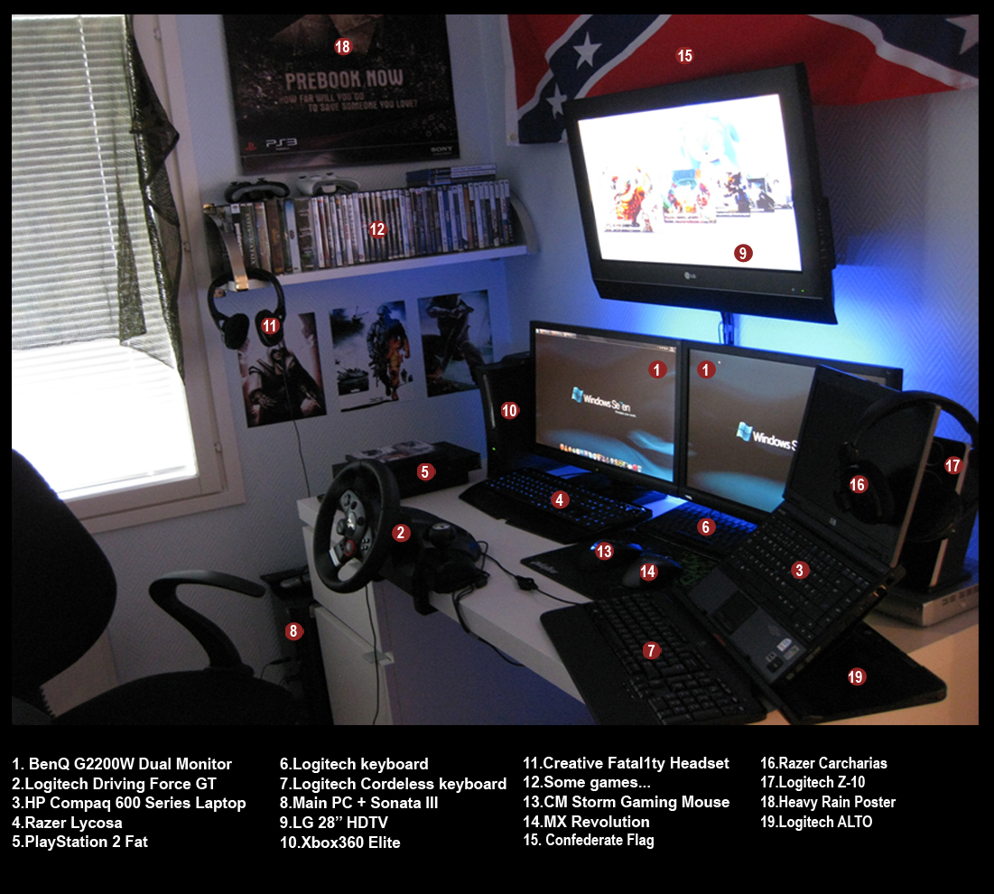 My Gaming Pc Setup 1 5 10 By Scythegaming On Deviantart