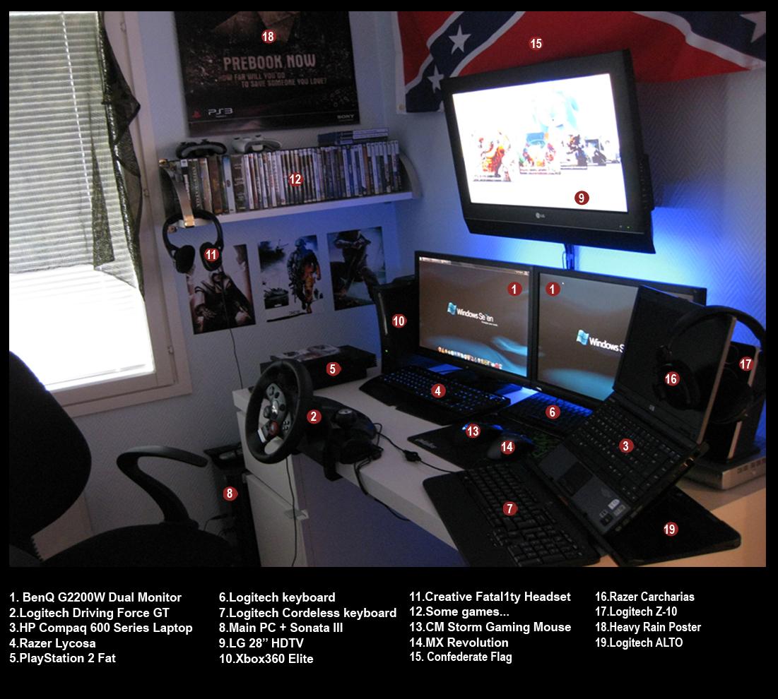 My Gaming PC Setup 1510 By Scythegaming On DeviantArt