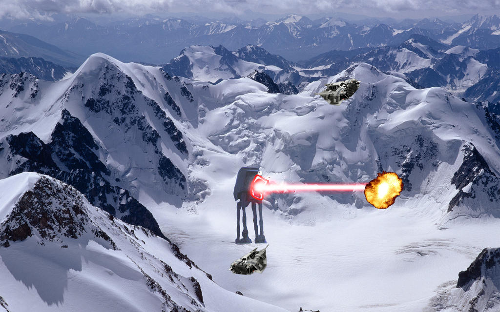 Hoth Battle Wallpaper my Hoth Battle by