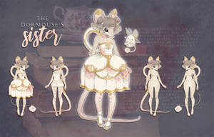 Adoptable AUCTION - The Dormouse's Sister