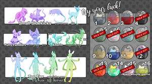 CLOSED - SOLD OUT - Adoptables Gacha!