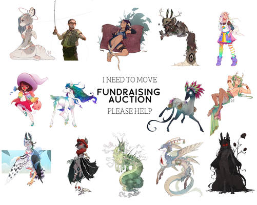 CLOSED Help Me Move Fundraising Auction