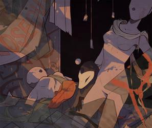 Starling - Their Haunt by rejamrejam