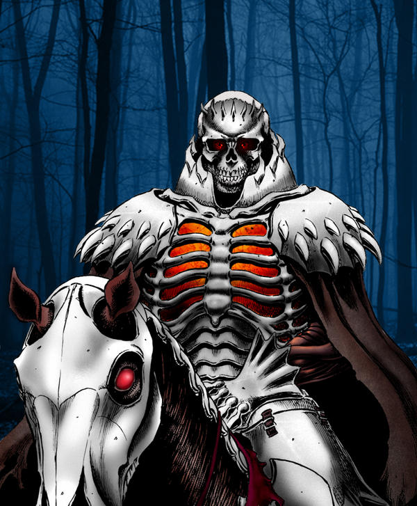skull knight by neronin