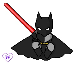 Chibi Darth Bat by wachey