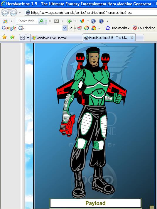 Payload Hero Machine by Ironhold