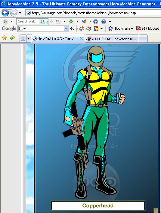 Copperhead Hero Machine by Ironhold