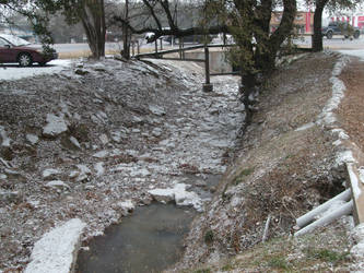 Snow In The Creek by Ironhold