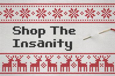 Shop The Insanity - Christmas Logo