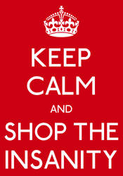 Shop The Insanity - Unused Logo