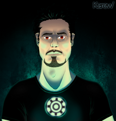 Tony Stark by Karew