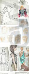 Sketchdump november 2014 by Karew