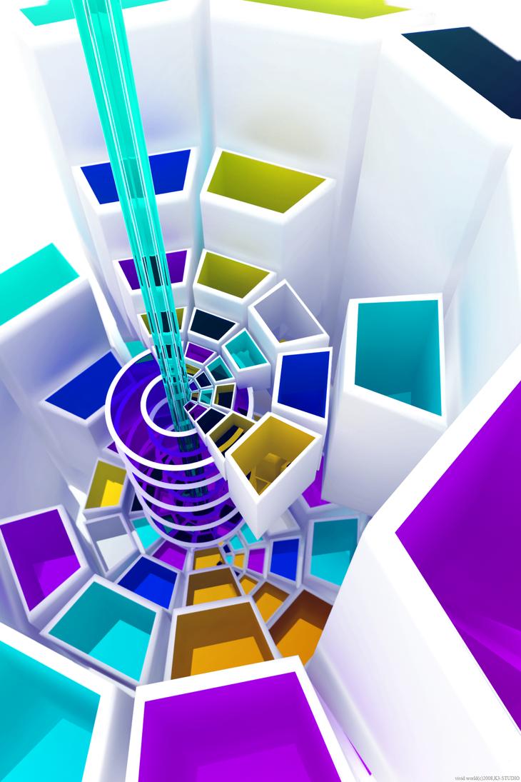 Vivid world by k3-studio