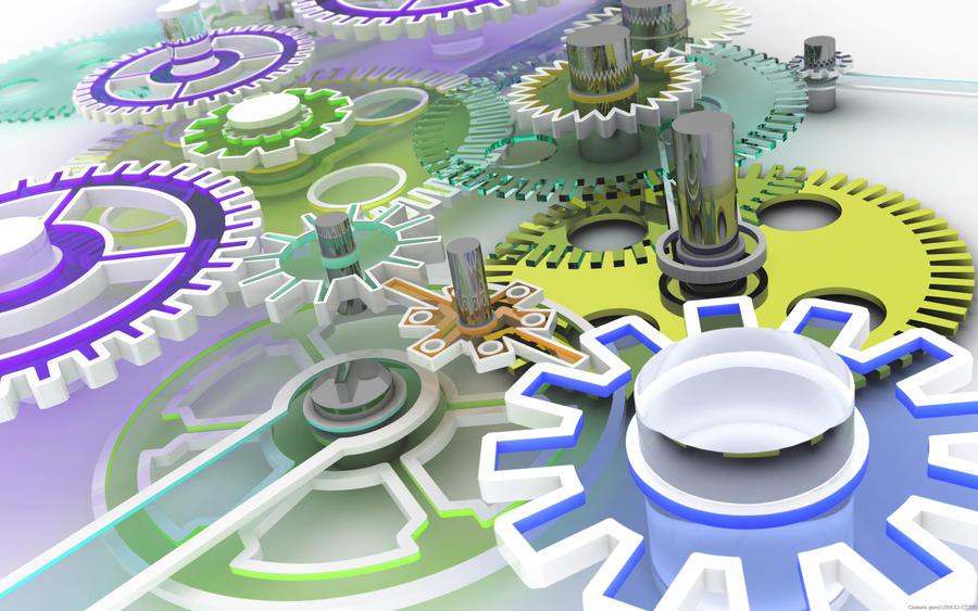 Chromatic gears by k3-studio