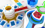 WALLPAPER : Chromatic toys3