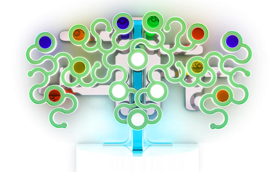 Chromatic tree by k3-studio