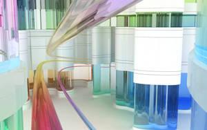 Chromatic corridor by k3-studio