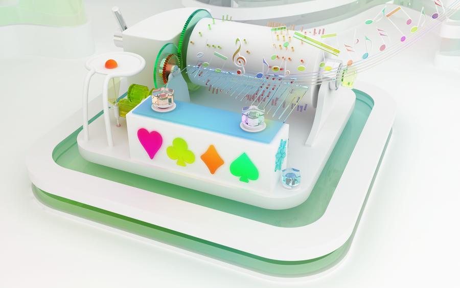 Musical box by k3-studio