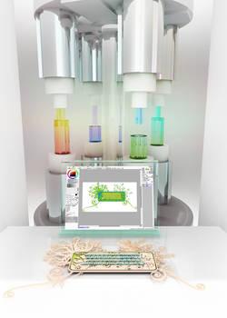 Desktop - image of monitor