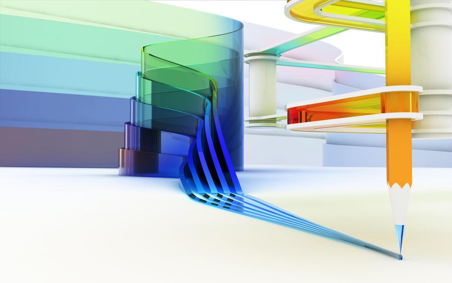 Glass paint by k3-studio